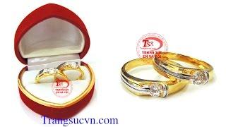 Nhẫn cưới giá rẻ,Nhẫn cưới vàng giá rẻ, Giá: 2.651.000 VNĐ/đôi