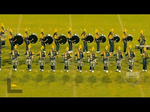 Halftime - North Carolina A&T - Queen City Battle of the Bands 2016