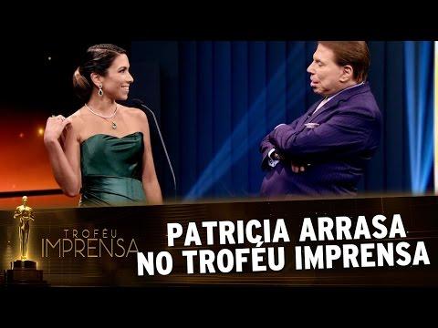 Troféu Imprensa 2017 - Patricia agradece à sua equipe