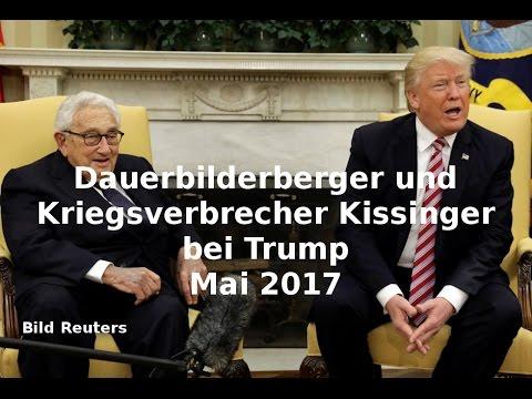 NWO-Element: Kriegsverbrecher Kissinger als guter Freund bei Trump über Russland und Syrien