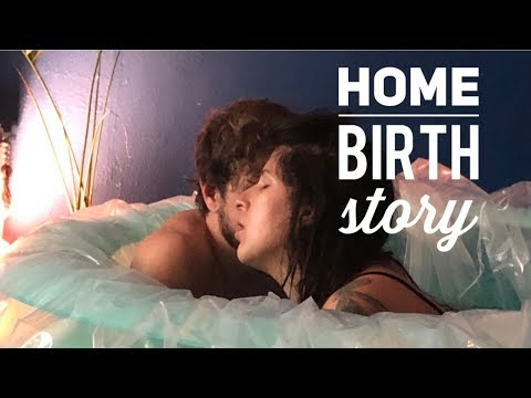 Beautiful home birth story    very short labor and delivery   