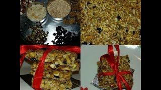 Healthy Homemade Granola Bars By Yesha Gala