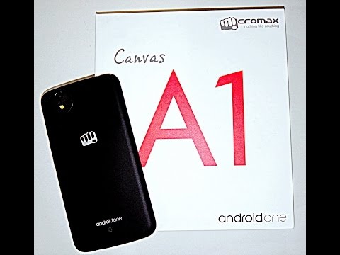 Micromax Canvas A1 (Android one) unboxing, hands on review