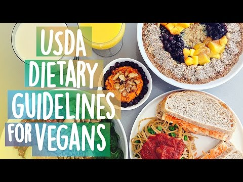 Usda Tary Guidelines For Vegans Meal Plan That Meets All Nutrient Levels