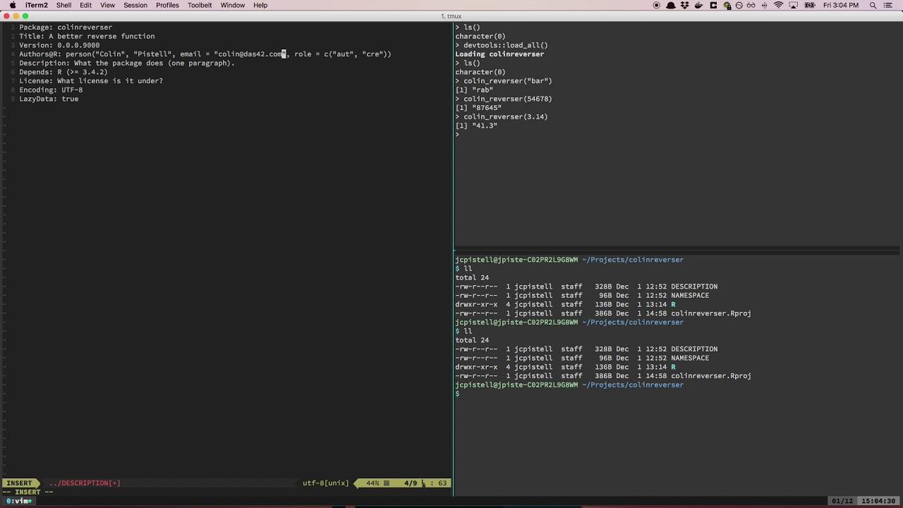 Developing R Packages | Part 4: The DESCRIPTION file