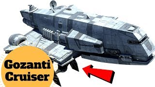 AT-AT and TIE Fighter Transport - Gozanti-class Cruiser/Transport - Star Wars Ships & Vehicles Lore