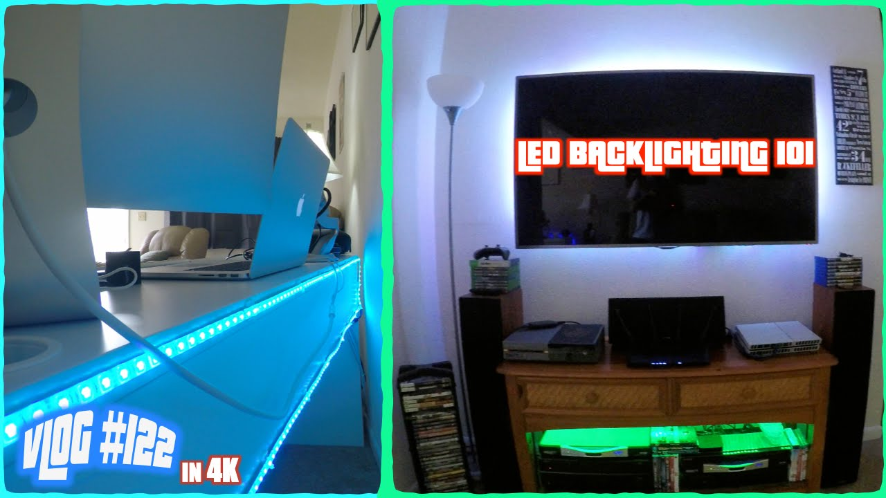 L Shaped Desk Gaming Setup