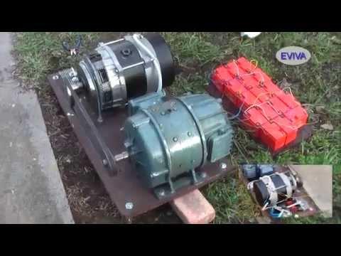 Free Energy Jan 2015 Motor Generator 1KW EVIVA unit from Kiev Ukraine