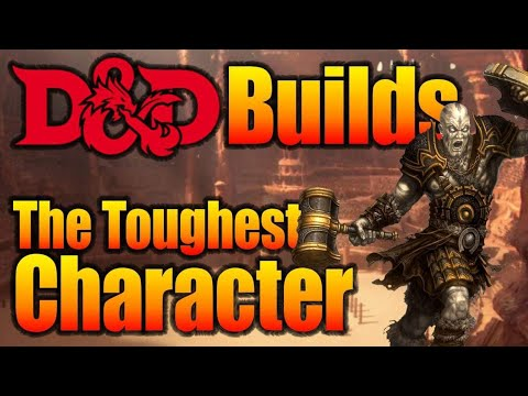DnD Builds 5e: Tank D&D Character Build - YouTube