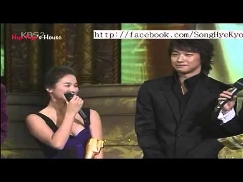 [HyeKyo's house](vietsub) Song Hye Kyo & Bi best couple in KBS award 2004