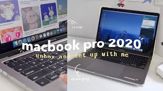 "macbook pro 2020 13"" unboxing 💻💛 