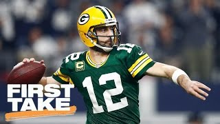 How Much Longer Will Aaron Rodgers Play At High Level? | First Take | March 30, 2017