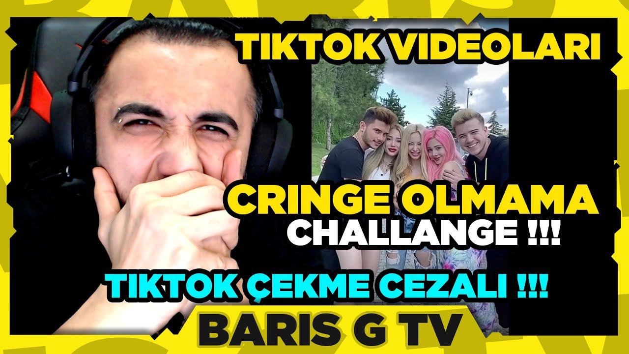 Barış G EKİPLE CRİNGE OLMAMA CHALLANGE YAPIYOR (TİKTOK ÇEKME CEZALI !!!)