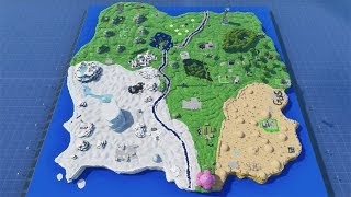 This Guy REBUILT the *ENTIRE* Fortnite Map in Creative Mode! (with code) - Compact Combat