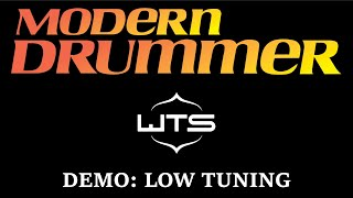 Modern Drummer Demo: Welch Tuning Systems (Low Tuning)