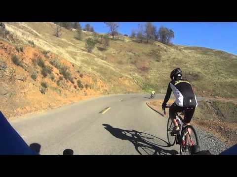 Road Cycling de Mt diablo