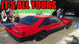 How one kid earned a Mustang for Christmas!