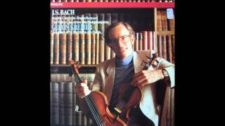 Bach : Double concerto in D minor (II. Largo ma non tanto) BWV 1043 - Gidon Kremer