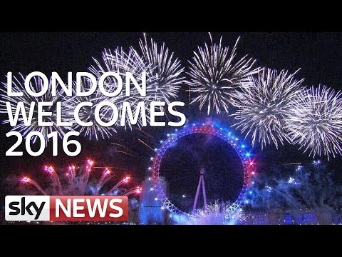 London Welcomes 2016 With 11-Minute Firework Display