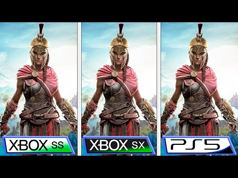 Анализ обновления Assassin's Creed Odyssey до Xbox Series X | S и Playstation 5