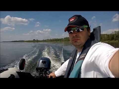 Jaki ponton wybrać - Najlepszy ponton Test-BARK-BT-420-Yamaha-Capral-20HP-test-speed-Kolibri-vs-Bark