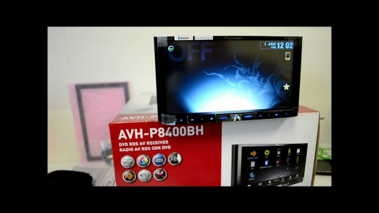 hight resolution of avh p8400bh