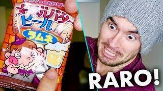 PROBANDO RAROS DULCES JAPONESES !!