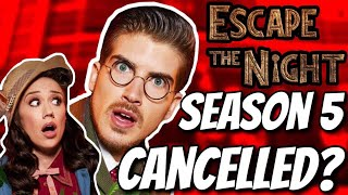 Is SEASON 5 FILMING?! Escape The Night Speculation