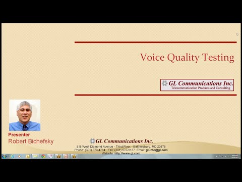 POLQA  - Next Generation Voice Quality Testing Standard for Fixed, Mobile & IP Networks