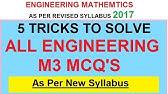 Uni pune M3 Online paper solving technique - YouTube