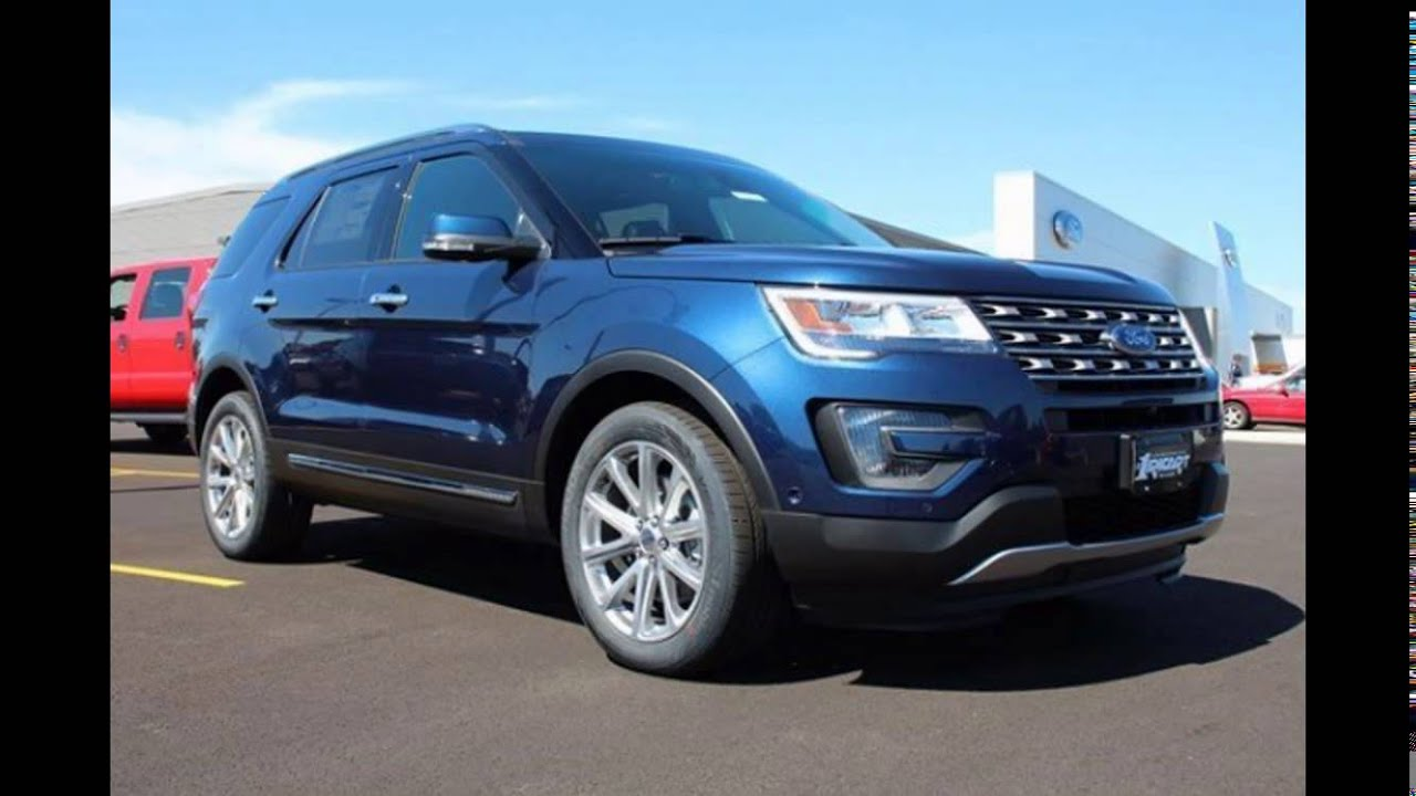 2016 Ford Explorer Blue Jeans - YouTube