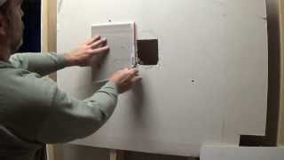 Funny dry wall repair lesson! Easy-peasy hole repair by Dandy Handy Man, yall!