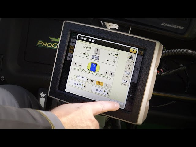 John Deere HD200 GPS PrecisionSprayer — Isobus Training Video