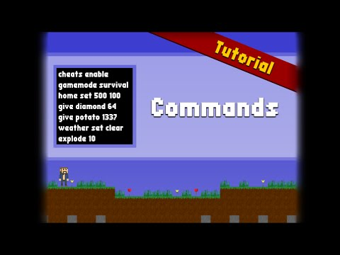 Commands - Mine Blocks Wiki