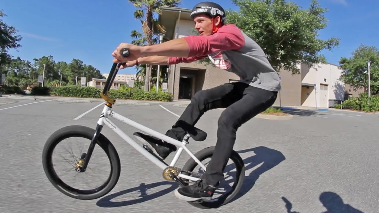 how to manual bmx youtube