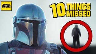 Star Wars: The Mandalorian Trailer Breakdown -  Things Missed & Easter Eggs