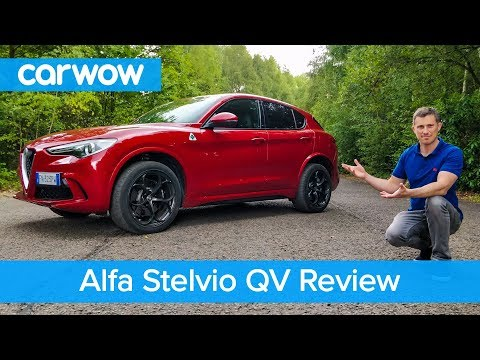 Alfa Stelvio Quadrifoglio 510hp review – see why it's the ONLY fun SUV | carwow