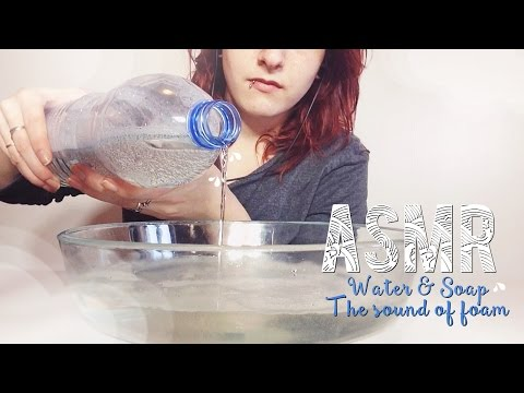 ASMR Français - Relaxation ~ Water & Soap, the sound of foam