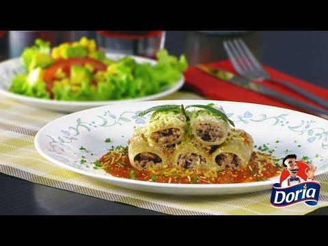 Guarguerones Doria con Carne Molida