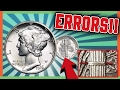 RARE MERCURY DIMES WORTH MONEY - ERROR COIN HUNTING TIPS!!