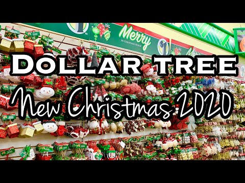 DOLLAR TREE CHRISTMAS 2020 • DOLLAR TREE CHRISTMAS ORNAMENTS 2020 • BROWSE WITH ME