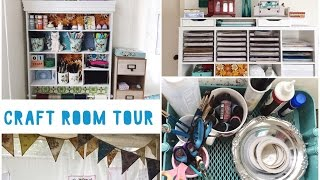 Craft Room/Studio Tour 2017