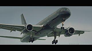 Tag Aviation Boeing 757-200 landing @ KBOS
