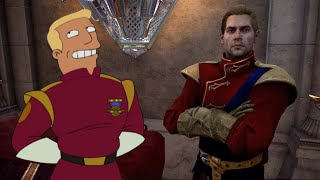checkmate dragon age inquisition futurama parody