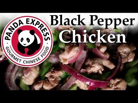 Black Pepper Chicken - Panda Express Recipe