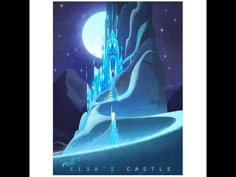 期間限定作品「Elsa's Castle(アナと雪の女王)」紹介動画