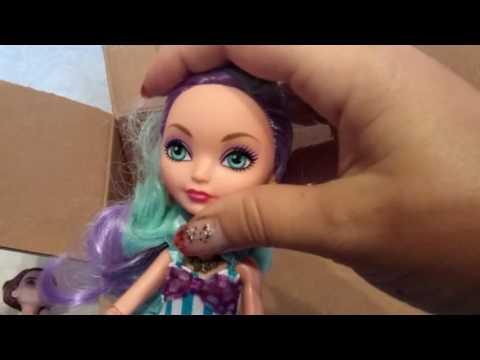 Распаковка посылки с куклами Монстер Хай и Эвер Афтер Хай