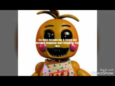 Top 10 strongest fnaf characters from fnaf 1-3