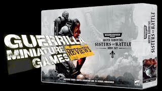 GMG Reviews - The Sisters of Battle Army Box by Games Workshop