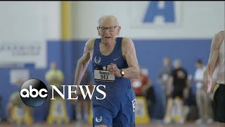Centenarians break world records at track meet